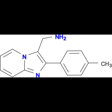 C-(2-p-Tolyl-imidazo[1,2-a]pyridin-3-yl)-methylamine
