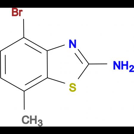 2-Amino-4-bromo-7-methylbenzothiazole