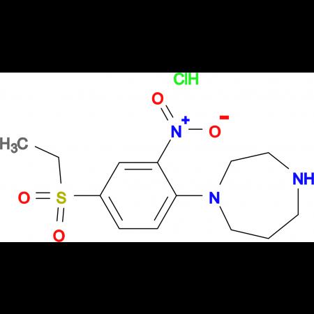 1-[4-(Ethylsulfonyl)-2-nitrophenyl]homopiperazinehydrochloride