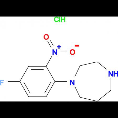 1-(Fluoro-2-nitrophenyl)homopiperazinehydrochloride