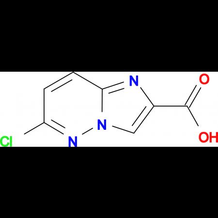 6-Chloroimidazo[1,2-b]pyridazine-2-carboxylic acid
