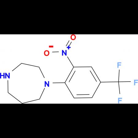 1-[2-Nitro-4-(trifluoromethyl)phenyl]homopiperazine hydrochloride