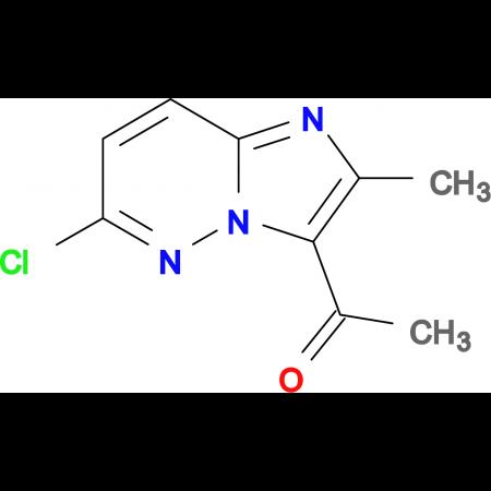 3-Acetyl-6-chloro-2-methylimidazo[1,2-b]pyridazine