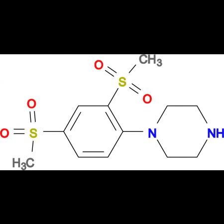 1-[2,4-Bis(methylsulfonyl)phenyl]piperazine