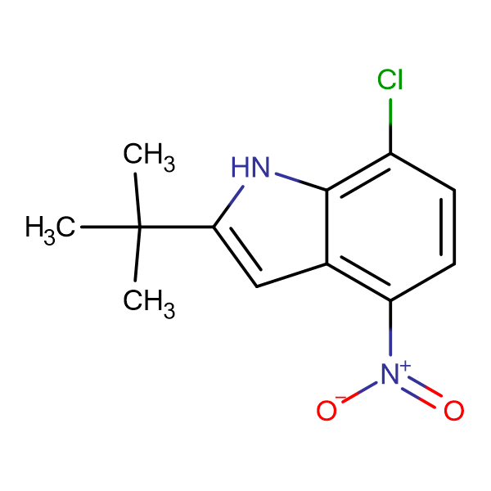 2-tert-Butyl-7-chloro-4-nitroindole