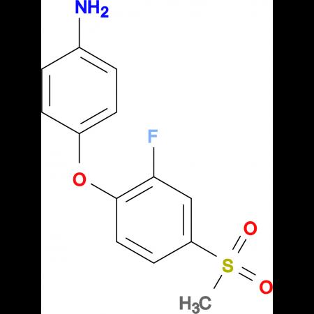 4-[(2-Fluoro-4-methylsulfonyl)phenoxy]aniline