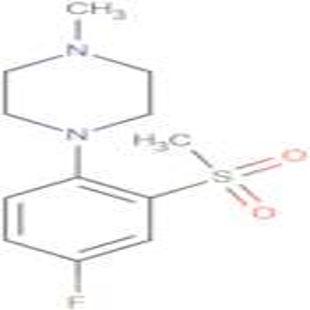 1-[(4-Fluoro-2-methylsulfonyl)phenyl]-4-methylpiperazine