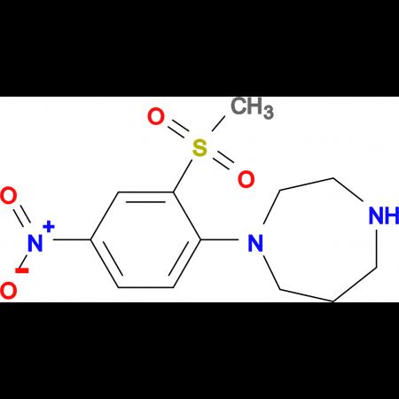 1-(2-Methylsulfonyl-4-nitrophenyl)homopiperazine