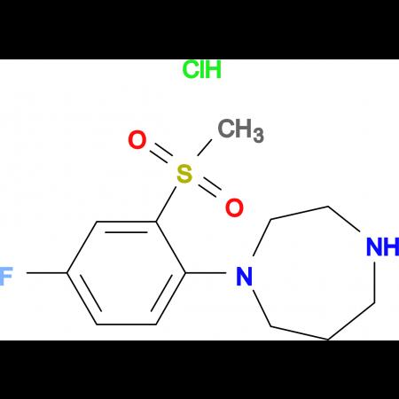 1-[4-Fluoro-2-(methylsulfonyl)phenyl]-homopiperazine hydrochloride
