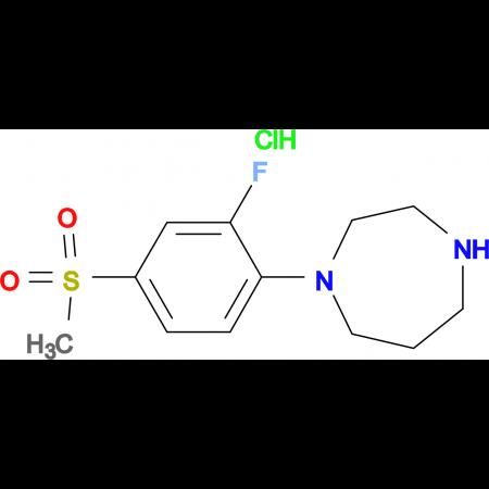 1-[2-Fluoro-4-methylsulfonyl)phenyl]homopiperazinehydrochloride