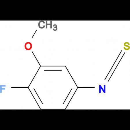 4-Fluoro-3-methoxyphenylisothiocyanate