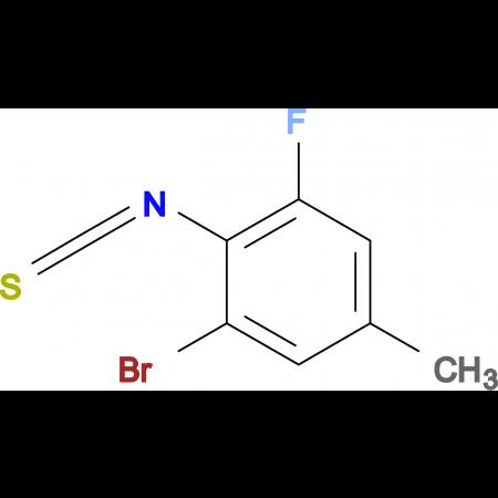 2-Bromo-6-fluoro-4-methylphenylisothiocyanate