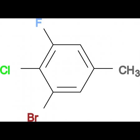 3-Bromo-4-chloro-5-fluorotoluene