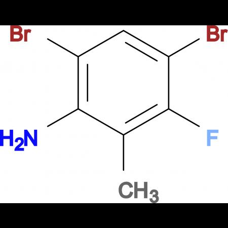 4,6-Dibromo-3-fluoro-2-methylaniline