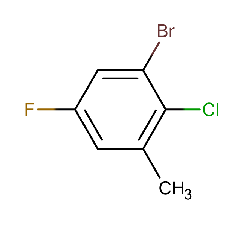 3-Bromo-2-chloro-5-fluorotoluene