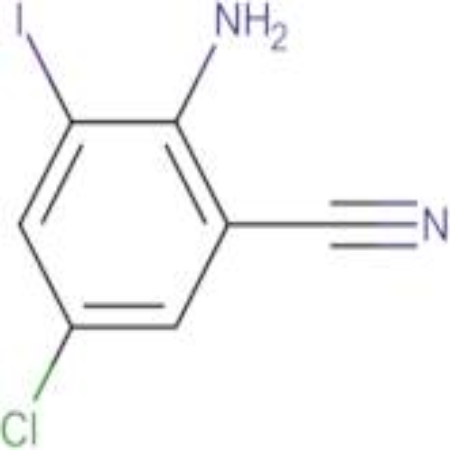 2-Amino-5-chloro-3-iodobenzonitrile