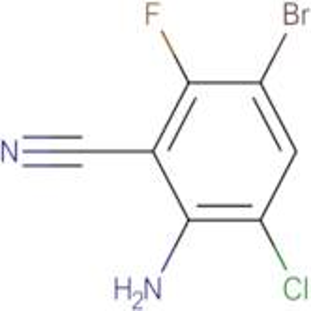 2-Amino-5-bromo-3-chloro-6-fluorobenzonitrile