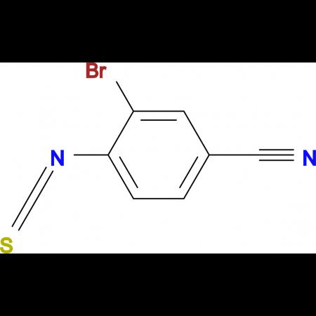 2-Bromo-4-cyanophenylisothiocyanate