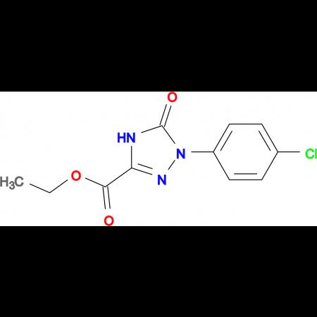 Ethyl 1-(4-chlorophenyl)-2,5-dihydro-5-oxo-1H-1,2,4-triazole-3-carboxylate