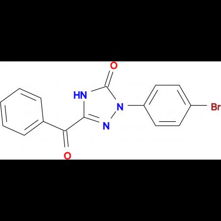 5-Benzoyl-2-(4-bromophenyl)-1,2-dihydro-3H-1,2,4-triazol-3-one
