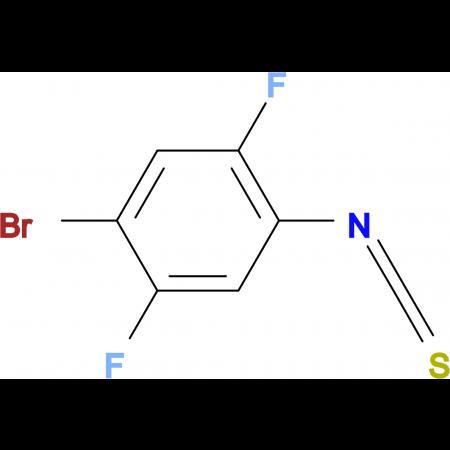 4-Bromo-2,5-difluorophenyl isothiocyanate