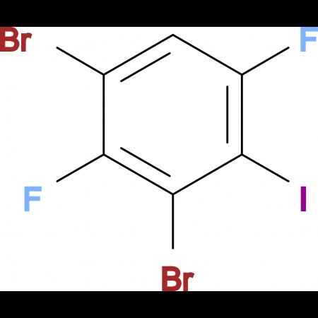 2,4-Dibromo-3,6-difluoroiodobenzene
