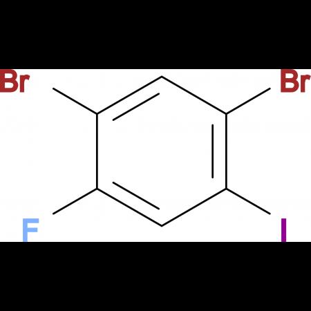 2,4-Dibromo-5-fluoroiodobenzene