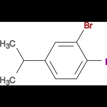 3-Bromo-4-iodoisopropylbenzene