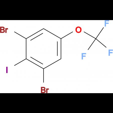 2,6-Dibromo-4-(trifluoromethoxy)iodobenzene
