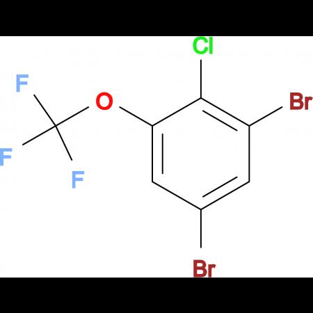 3,5-Dibromo-2-chlorotrifluoromethoxybenzene