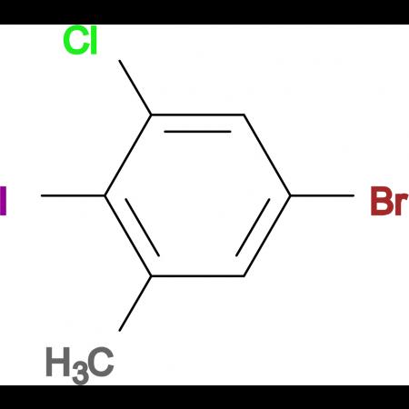 5-Bromo-3-chloro-2-iodotoluene