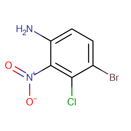 4-Bromo-3-chloro-2-nitroaniline