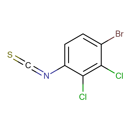 4-Bromo-2,3-dichlorophenyl isothiocyanate