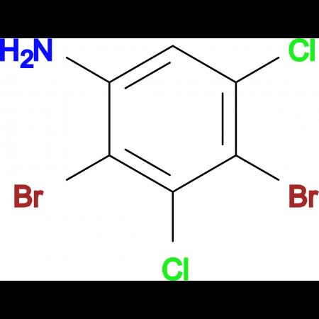 2,4-Dibromo-3,5-dichloroaniline