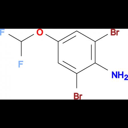 2,6-Dibromo-4-(difluoromethoxy)aniline
