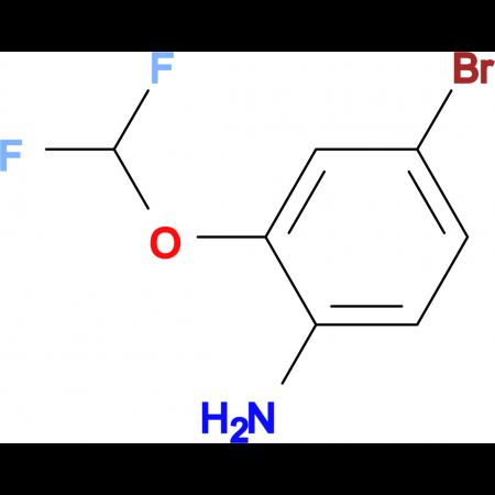 4-Bromo-2-(difluoromethoxy)aniline