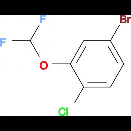 5-Bromo-2-chloro-(difluoromethoxy)benzene