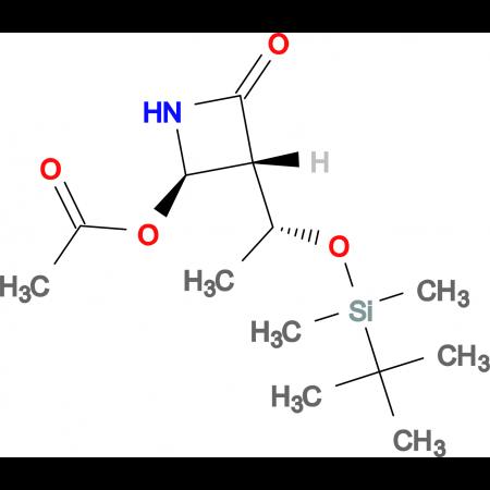 (3R,4R)-4-Acetoxy-3-[(R)-1-(tert-butyldimethylsilyloxy)ethyl]azetidin-2-one