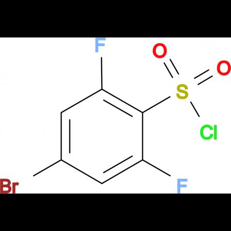 4-Bromo-2,6-difluorobenzenesulfonyl chloride