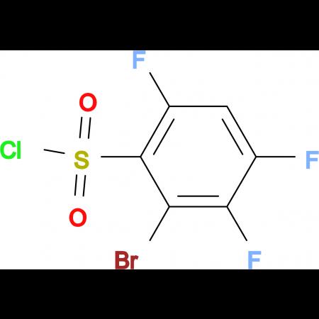 2-Bromo-3,4,6-trifluorobenzenesulfonyl chloride