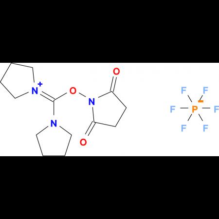 Dipyrrolidino(N-succinimidyloxy)carbenium hexafluorophosphate