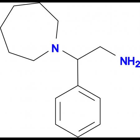 2-Azepan-1-yl-2-phenylethylamine