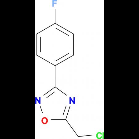 5-Chloromethyl-3-(4-fluoro-phenyl)-[1,2,4]oxadiazole