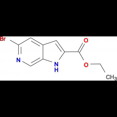 Ethyl 5-Bromo-1H-pyrrolo-[2,3-c]-pyridine-2-carboxylate