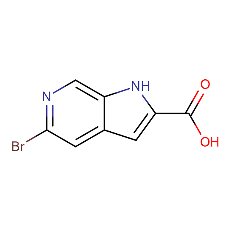 5-Bromo-1H-pyrrolo[2,3-c]pyridine-2-carboxylic acid