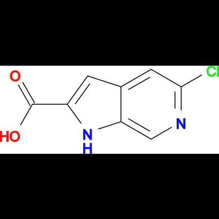 5-Chloro-1H-pyrrolo[2,3-c]pyridine-2-carboxylic acid