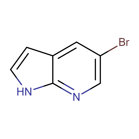 5-Bromo-1H-pyrrolo[2,3-b]pyridine
