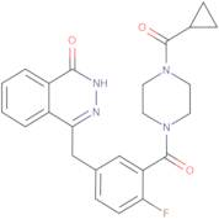 4-[(3-{[4-Cyclopropylcarbonyl)piperazin-4-yl]carbonyl}-4-fluorophenyl)methyl]phtalazin-1(2H)-one