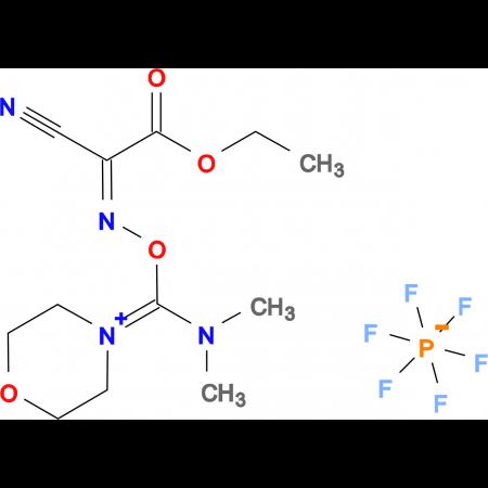 (1-Cyano-2-ethoxy-2-oxoethylidene aminooxy)dimethylaminomorpholino carbenium hexafluorophosphate