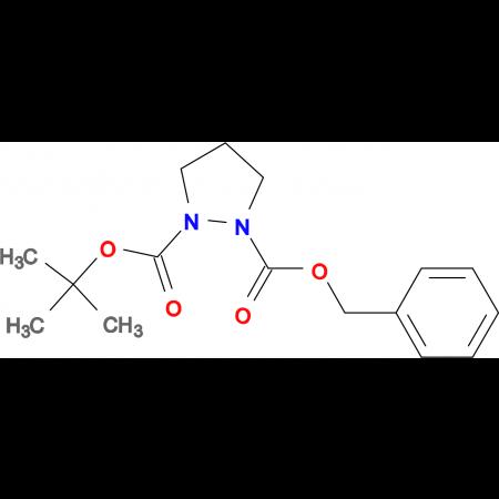 Pyrazolidine-1,2-dicarboxylic acid 1-benzyl ester 2-tert-butyl ester